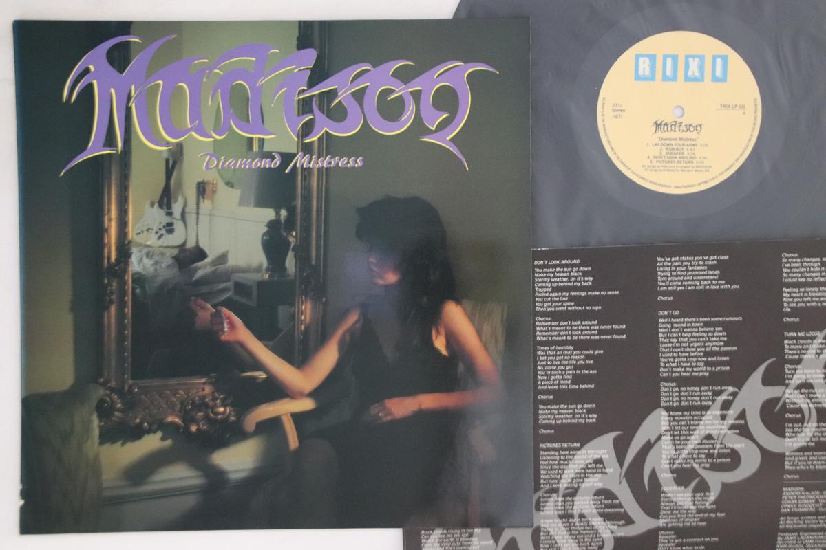 Details about LP MADISON Diamond Mistress TRIXLP111 RIXI SWEDEN Vinyl