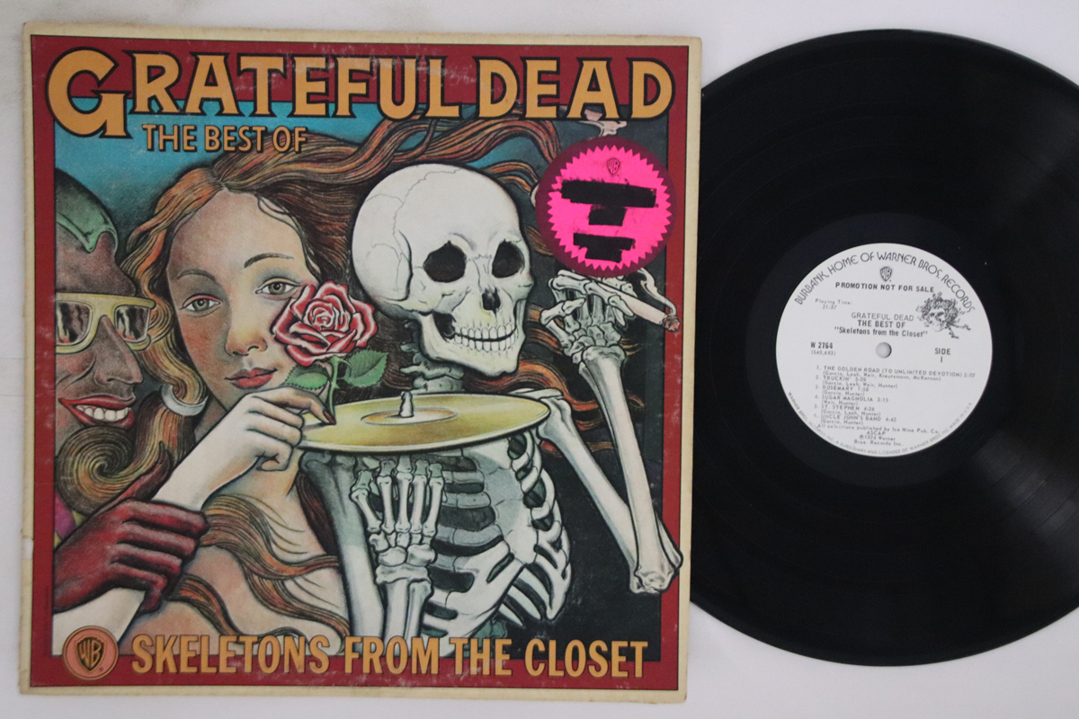 Details About Lp Grateful Dead Best Of The Grateful Skeletons W2764 Warner Bros Us Promo