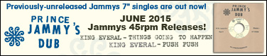Jammys 45rpm Releases