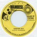 Lloyd Ruddock - Genuine Way (Tamoki Wambesi UK-Re)