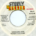 Wendy Culture - Wheeling Don