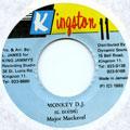Major Mackerel - Monkey DJ (Kingston 11)