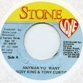 Jigsy King, Tony Curtis - Anyman Yu Want (Stone Love)