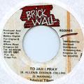 Admiral Tibet - To Jah I Pray (Brick Wall)