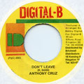 Anthony Cruz - Don't Leave (Digital B)