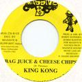 King Kong - Bag Juice & Cheese Chips (Massive B US)