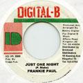 Frankie Paul - Just One Night (Digital B)