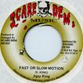 Jigsy King - Fast Or Slow Motion (Scare Dem Muzic)