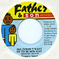 Gregory Isaacs - She Doesn't Want Me To Be Her Man (Father & Son)