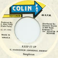 Simpleton - Keep It Up (Colin Fat)