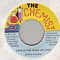 Jimmy London - Stop In The Name Of Love (Chemist)