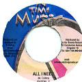 Sizzla - All I Need (In Time Music)