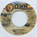 Capleton - Joy For All (Roaring Lion)