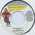 Anthony Malvo - No Foul Play