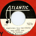 Don Covay, Goodtimers - Temptation Was Too Strong
