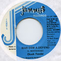 Chuck Fender - War Dem A Defend (Jammys)