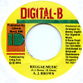 AJ Brown - Reggae Music