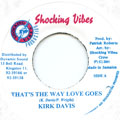 Kirk Davis - That's The Way Love Goes (Shocking Vibes)