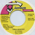 Tony Curtis - Girls Request (Arrows)