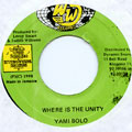 Yami Bolo - Where Is The Unity