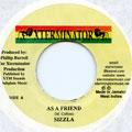 Sizzla - As A Friend (Xterminator)