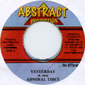 Admiral Tibet - Yesterday (Abstract)