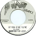 Barrington Levy - If You Give To Me