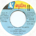 Carlene Davis - Never Keeping Secrets (Kingston 11)