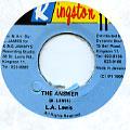LA Lewis - Answer (Kingston 11)