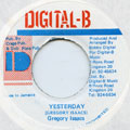 Gregory Isaacs - Yesterday (Digital B)