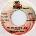 Elephant Man - All She Need Is Love
