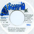 Sanchez, Anthony B - Out Of My Mind (Remix) (Black Scorpio)