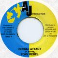 Tony Rebel - Verbal Attack (AJ Production)