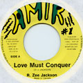 R Zee Jackson - Love Must Conquer