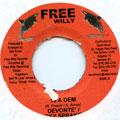 Devonte, Rickey Spake - 10 A Dem (Free Willy)