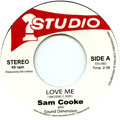 Sam Cooke, Soul Vendors - Love Me (Studio One Rhythm Remix) (Plane Sleeve)