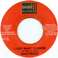 Maxi Priest - I Just Want To Know (Birchill)