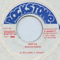 Mackie Ranks - Justice (Rockstone)