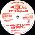 Anthony Simba - Jah Watcheth Over Me; Dub Over Me