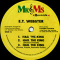ET Webster - Hail The King (3 Mixes) (Picture Sleeve)