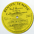 Ital Horns, Culture Freeman - Code Of Conduct; Dubwise Conduct