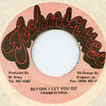 Frankie Paul - Before I Let You Go