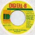 Ninjaman - Last Of The Warning (Digital B)