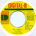 George Nooks - So Lonely