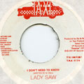 Lady Saw - I Don't Need To Know (Taxi)