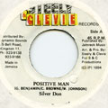 Silver Don - Positive Man (Steely & Clevie)