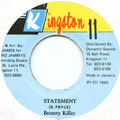 Bounty Killer - Statement (Kingston 11)