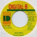 General Degree - Bad Mind (Digital B)