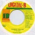 Frankie Paul - Things You Do