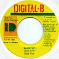 Red Fox - Wanted (Digital B)